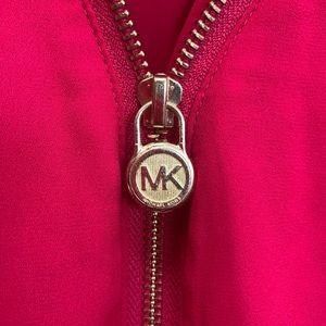Michael Kors zip trim blouse
